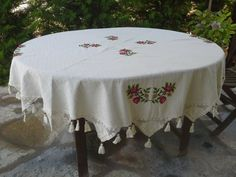 Hey, I found this really awesome Etsy listing at https://www.etsy.com/listing/239756662/free-shipping-68-circular-tablecloth
