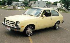 Chevrolet Chevette - My grandparents had a Chevette Sandpiper just like this one!
