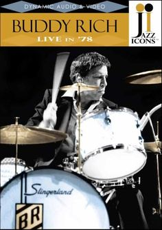 Buddy Rich: Live In '78 - Jazz Icons DVD. £18.37