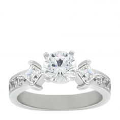 Engagement Rings | Multi Stone | Monica Engagement Ring - 10k Value Collection