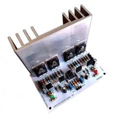 Amplificador 200W (300W) Stéreo uso geral - Única peça