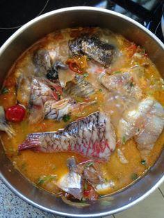 Court-bouillions de poisson pays :-)