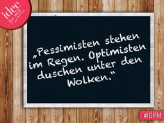 Genau so ist es!  #IDFM - Inspiration des Tages #Quotes #Sprüche #Zitate