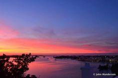 Bermuda Beautiful Sunset
