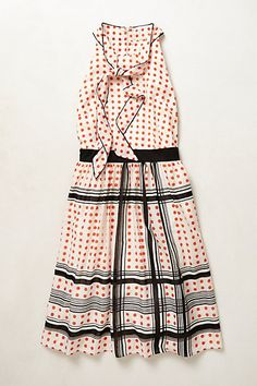 Archival Collection: Dotted Dress #anthropologie maeve