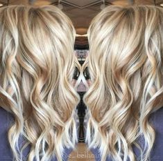 19 trendy hair color highlights and lowlights caramel summer curls Hair Color 2017, Red Hair Color, Blonde Color, Cool Hair Color, Blonde Pink, Hair Color Highlights, Hair Color Balayage, Fall Balayage, Ashy Balayage