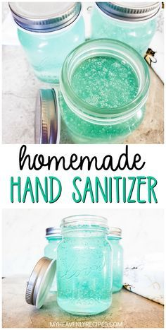 household hacks DIY Hand Sanitizer Recipe- how to make your own hand sanitizer at home. Easy and quick recipe to do! With the Coronavirus or any other disease going around this is a mu