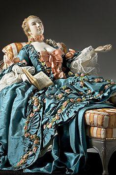 Historical dolls Madame Pompadour