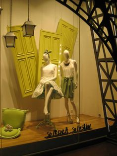 Smart Abstract and Casual Abstract Collection window display