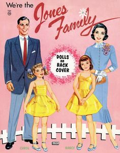 JONES FAMILY - edprint2000paperdolls - Picasa Web Albums