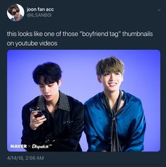 Okay I don't ship the BTS members together like other people do they're all just best friends and love each other BUT this really does look like one of those omg😂😂 Bts Memes, Funny Memes, Namjin, Taehyung, Bts Tweet, Lol, About Bts, I Love Bts, Bts Boys
