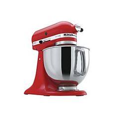 KitchenAid® Ultra Power Plus™ Tilt-Head Stand Mixer Red, KSM100PSER | Sears Canada
