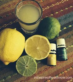 Simple Liver Detox. The liver is the filter for the body and can be the cause of many symptoms. It's good to cleanse it! And so easy with Lemon and peppermint oil!