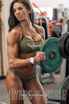 Female Form #StrongIsBeautiful #Motivation #WomenLift2 Bettina Nagy