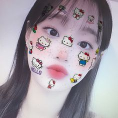 I Love Girls, Some Girls, Cool Girl, Hello Kitty, Chuu Loona, Face Stickers, Twitter Layouts, Kids Icon, Red Velvet Irene