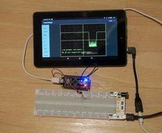 Picture of Tablet/Phone As Arduino Screen, and a $2 Oscilloscope