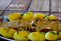 Aujourd'hui, c'est la recettedes côtes de porc à la moutarde que je vous propose. Nappées d'une délicieuse sauce à la moutarde et à l'estragon, ces côtes de porc accompagné…