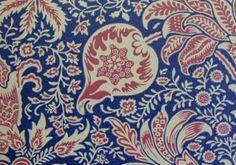 Morris & Co. - Indian Wallpaper - Indigo/Red