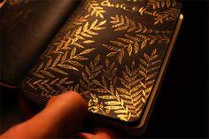 DIY GOLD CALLIGRAPHY INK