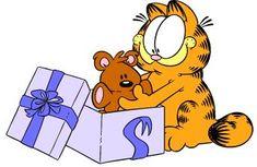 Garfield... Precious Pooky...