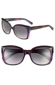 kate spade new york 'gardes' 55mm sunglasses | Nordstrom