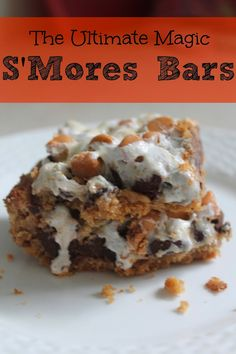 Ultimate Magic S'Mores Bars : The Chirping Moms
