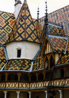 Hospice de Beaune, Burgundy, France