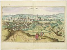 """Cassovia superioris Hungariae civitas primaria, G. Hoefnagel (1617)  Publisher : BRAUN, G./HOGENBERG, F. Latin description on verso, by Braun : """"Kosice is a large and well-fortified city in the Kingdom of Hungary. Situated on the borders to Transylvania on the Hernad, the city is in a good position both for protecting the country and for craft trades and commerce. It is one of the most important strongholds in the whole kingdom and capable of soundly defeating even the most powerful enemy."""" My Roots, Ancestry, Hungary, Vintage World Maps, Country, City, Crafts, Photography, History"""