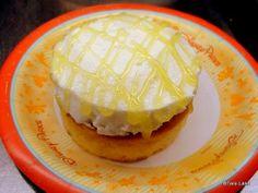 Lemon Cupcake from Sunshine Seasons in Epcot! #DisneyFood #WDW