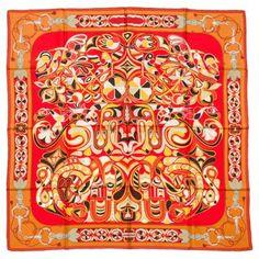 Hermès Folklore Scarf