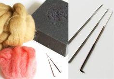 needle felting tutorial!