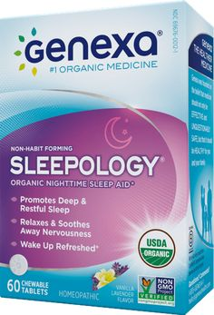 Say goodbye to sleepless nights and good morning to feeling fully rested and refreshed with Sleepology's organic formula, designed to treat sleeplessness and frequent waking.