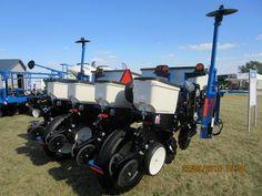 Rear of 4 row Kinze 3000 corn planter