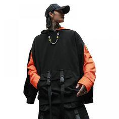 Sweatshirt Hooded Streetwear Hip Hop Hoodie //Price: $29.83 & FREE Shipping // #morning #inspiration