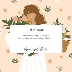 Reminder Quotes, Self Reminder, Mood Quotes, Note To Self Quotes, Dear Self Quotes, Positive Quotes Wallpaper, Wallpaper Quotes, Positive Affirmations Quotes, Affirmation Quotes