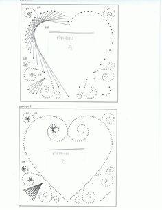 carte brodée idée pour mariage