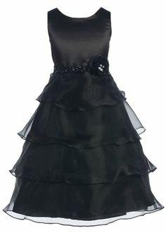 Girls KID Collection Black Organza Tiered Dress 12 (kid 1152) Kid Collection,http://www.amazon.com/dp/B000MOOJEW/ref=cm_sw_r_pi_dp_Y940rb00N6TYH2K5