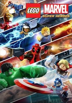 Locandina Lego Marvel