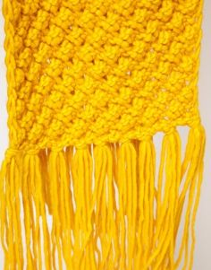 yellow scarf asos