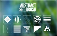 Brush Set - abstract by on DeviantArt Photoshop Shapes, Cool Photoshop, Best Photoshop Actions, Photoshop Cs5, Photoshop Brushes, Web Design, Graphic Design, Brush Sets, Free Graphics