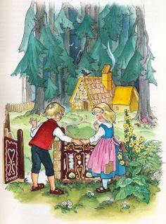 """Hansel and Gretal"", Felicitas Kuhn-Klapschy, (1926-)"