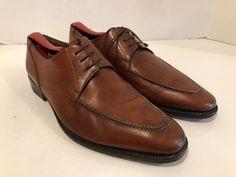 8db58744de8 NWOT Audrey Santoni Fatte A Mano women s sz 37 or US sz (will also fit a  men s sz brown leather penny loafers.