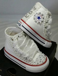 A person searched for: kid footwear apparel! , look up lots and lots of made by hand, old-fashioned, and maybe regarding a level items and items regarding each of your quest. Bedazzled Shoes, Bling Shoes, Prom Shoes, Bridal Converse, Bling Converse, Custom Converse, Converse Shoes, Cute Baby Shoes, Baby Girl Shoes