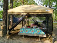 Shelter Ozark Trail 10 X 10 Mesh Screen Tan Be