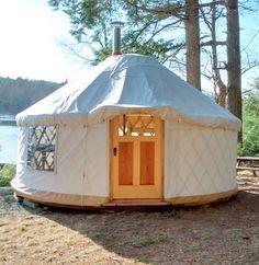 yurts for sale Bell Tent Camping, Yurt Camping, Camping In Texas, Glamping, Yurts For Sale, Pacific Yurts, Yurt Tent, Yurt Home, Yurt Living