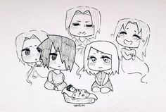 """yamelaii: """"Going back to the first chibis i ever posted on here """""""