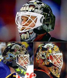 Roman Turek - Best helmet EVER!!! Love EDDIE!!!