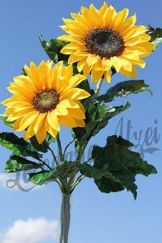 {2 wonderful sugar Sunflowers by Loredana Atzei}