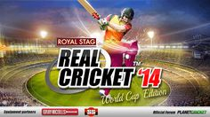 Real Cricket 14 features: - Choose from 16 nations and 8 master teams - Simple and intuitive controls that compel you enjoy the game with ease. - Amazing and unique hand drawn graphics - Scintillating 2D Motion Captured animations - Authentic Cricket equipment provided by legendary manufacturers - Full user control on team selection, batting and bowling order, 15 fields placements - Diverse modes, Exhibition, Tournaments such as T20 World Cup, - Never seen before game modes, unique a...