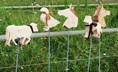 Blumenvasen aus Holz, Kreative Teelichthalter, Breite Auswahl an Gartensteckern